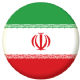Iran Country Flag 58mm Button Badge